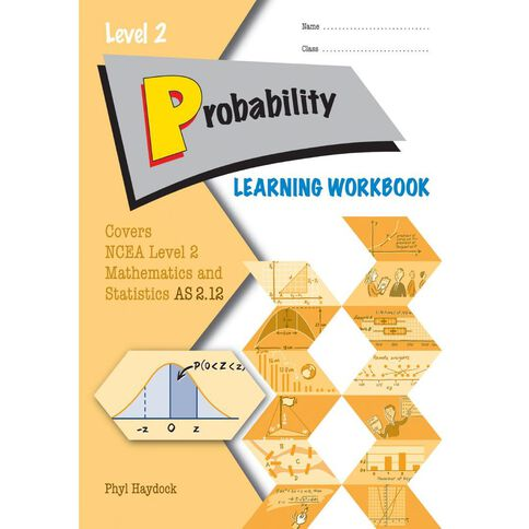 Ncea Year 12 Probability 2.12 Learning Workbook