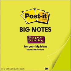 Post-It Big Notes Lime Green BN22 559 x 559mm