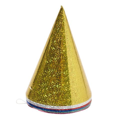Artwrap Party Holographic Hats 8 Pack