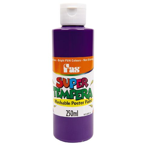 FAS Paint Super Tempera 250ml Violet Purple