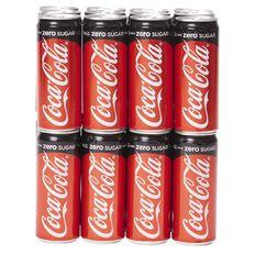 Coca Cola No Sugar Branded Import 320ml 24 Pack
