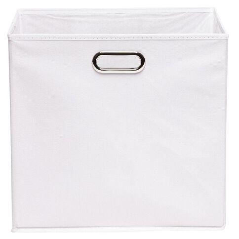 Workspace Storage Box Folding 9 & 12 Cube White