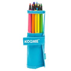 Kookie 18 Washable Fibre Pens With Carry Case