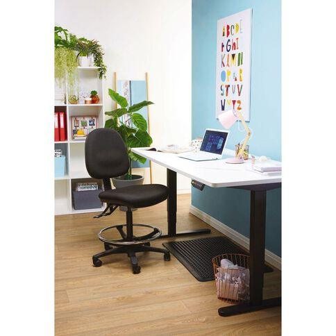 Chair Solutions Aspen Tech Midback Chair Black