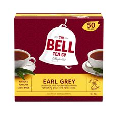 Bell Earl Grey Box 50 Tagless Tea Bags