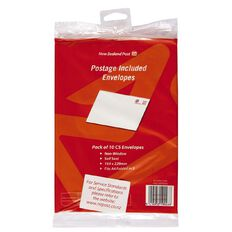 New Zealand Post Postage Included Envelope C5 pack of 10