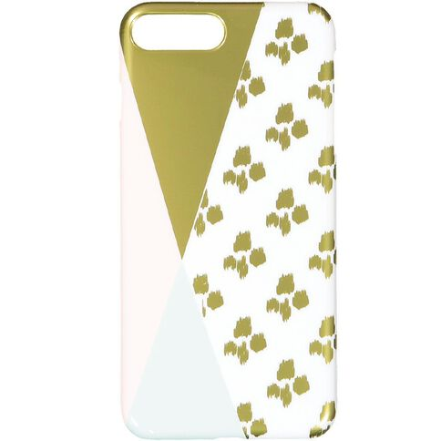 iPhone 7+/8+ Pastel Geo Leopard Case