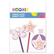 Kookie Create and Play Wands 2 Pack