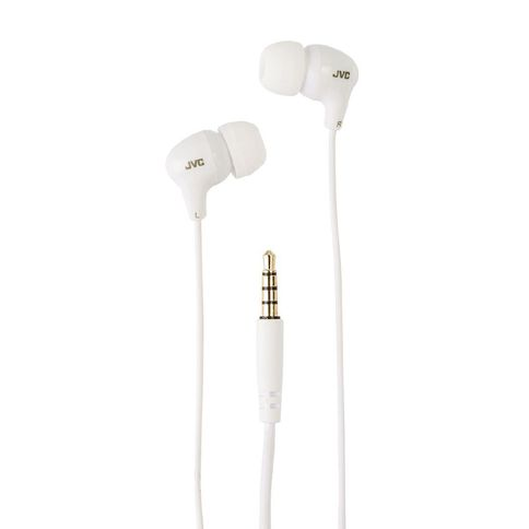 JVC Earbuds White