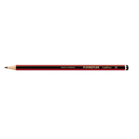 Staedtler Pencil Traditional 2B 12 Pack Black