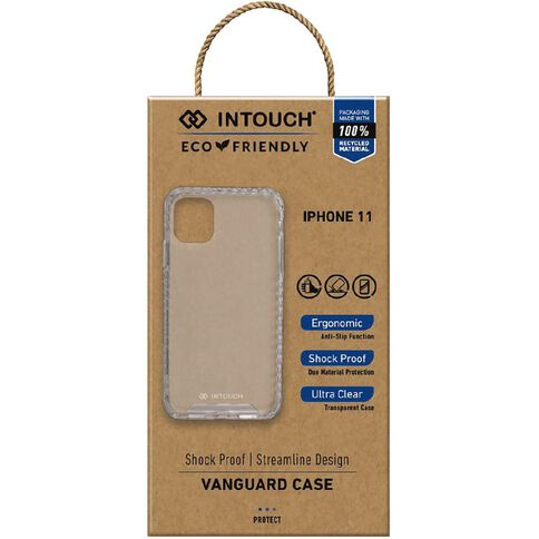 INTOUCH iPhone 11 Vanguard Drop Protection Case Clear
