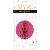 Party Inc Honeycomb Lantern Fushia 30cm