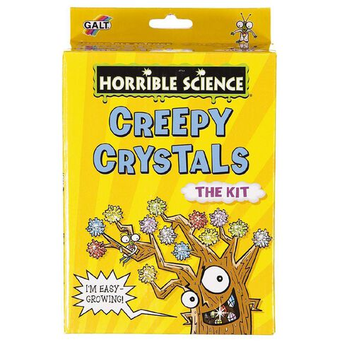 Galt Horrible Science Creepy Crystals