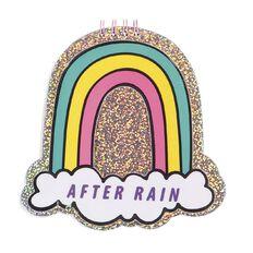 Kookie Novelty20 Rainbow Notepad Glitter Multicolour