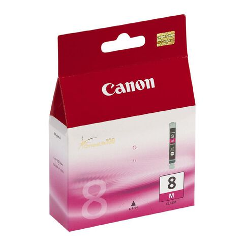 Canon Ink CLI8 Magenta (490 Pages)