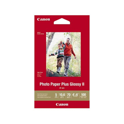 Canon Photo Paper Glossy Photo Ii 265gsm 4 x 6 100 Pack