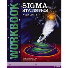 Ncea Year 13 Sigma Statistics Mathematics Workbook