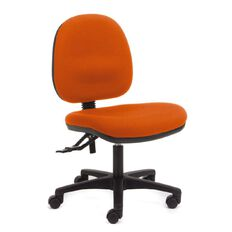 Chair Solutions Aspen Midback Chair Orange Orange