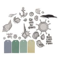 Uniti Under The Sea Vellum Die Cuts 90 Pieces