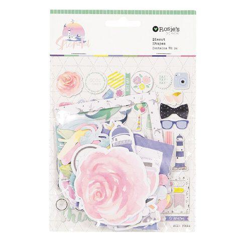 Rosie's Studio Splendid Cardstock Diecuts 118 Pack