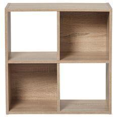 Living & Co Mason 4 Cube Oak Look