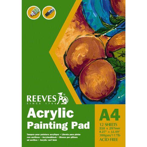 Reeves Acrylic Pad