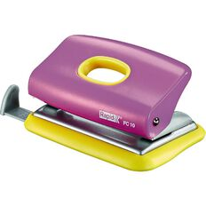 Rapid 10 Sheet 2-Hole Punch FC10 Funky Pink/Yellow
