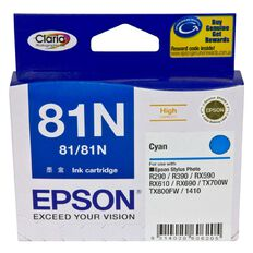 Epson Ink 81N Cyan (805 Pages)