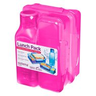 Sistema Lunch 3 Pack Multi-Coloured
