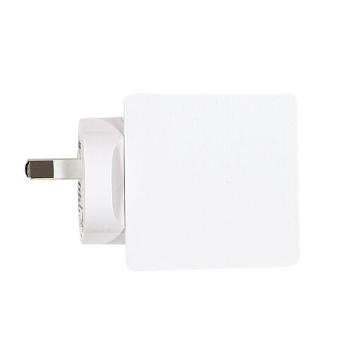 Tech.Inc Quad USB Wall Charger 4.8A White
