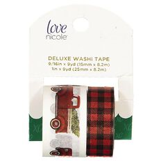Washi Love Nicole Holiday Truck 2 Pack