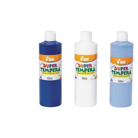 FAS Paint Super Tempera 500ml White White 500ml