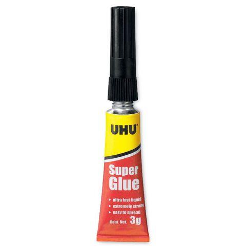 UHU Super Glue Liquid 3g Clear
