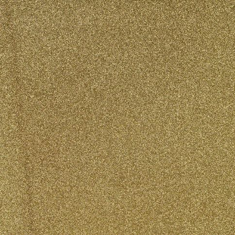 American Crafts Cardstock Glitter Medium 12 x 12 Gold