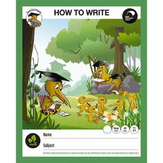 Clever Kiwi How To Write Book Multi-Coloured