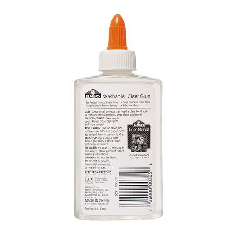 Elmer's Clear School Glue 147ml Clear