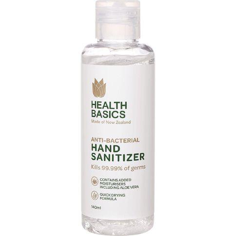 Health Basics Hand Sanitiser 140ml