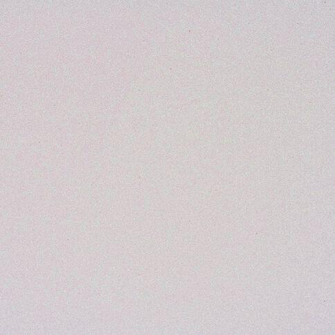 American Crafts Cardstock Glitter Medium 12 x 12 White