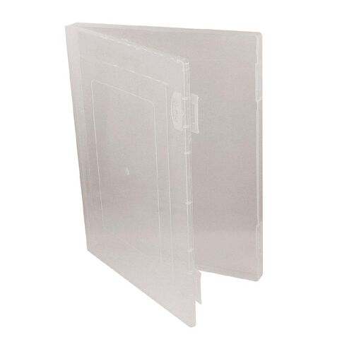 Office Supply Co Document Carry Case Clear A4