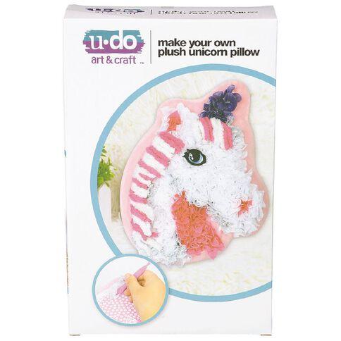 U-Do Make Your Own Plush Unicorn Pillow