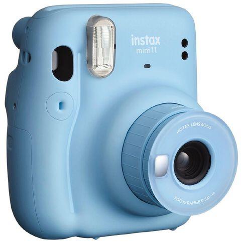Fujifilm Instax Mini 11 Instant Camera Sky Blue