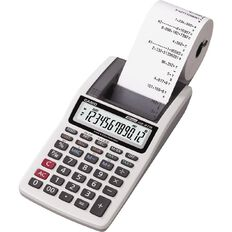 Casio Calculator Hr8Tmgr Mini Printer Black