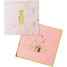 Uniti Vintage Envelope With Card 4in x 4in