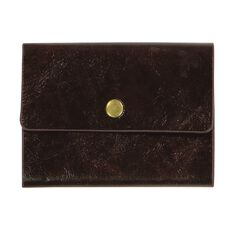 Paper Co Vintage Business Card Holder 24 Pockets Brown