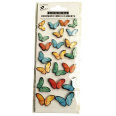 Little Birdie Beautiful Butterflies Woodland Stories 20 Pieces