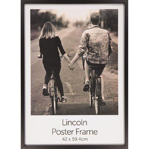 Uniti Box Poster Frame Black Black A2