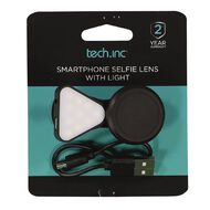Tech.Inc Smartphone Selfie Lens and Light