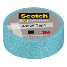Scotch Craft Tape 15mm x 5m Pastel Blue