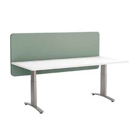 Boyd Visuals Desk Screen Modesty Panel Turquoise 1800mm