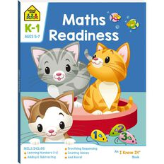 Maths Readiness I Know It Book (5-7yrs) by School Zone